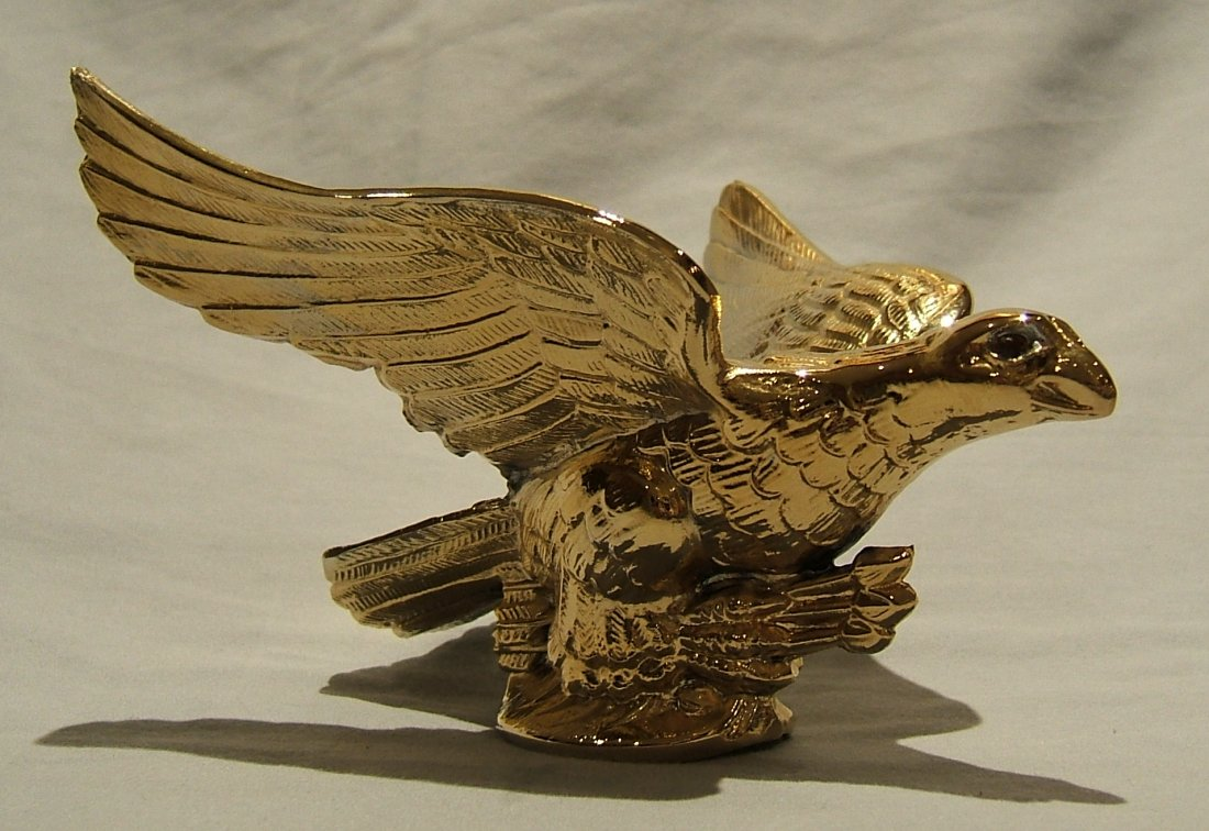 Large Eagle Mascot-Gold Plated